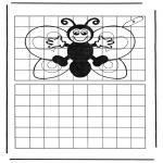 Crafts - Drawing butterfly
