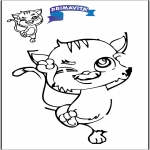 Crafts - Drawing cat