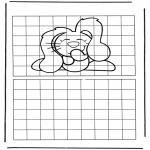 Crafts - Drawing dog