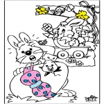 Theme coloring pages - Easter 3