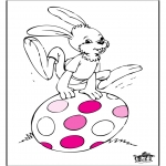 Theme coloring pages - Easter 5