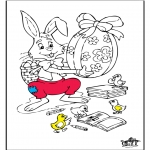 Theme coloring pages - Easter 6