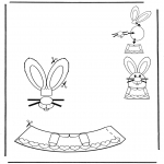 Theme coloring pages - Easter egg decoration 1