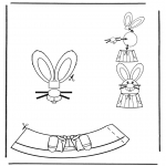 Theme coloring pages - Easter egg decoration 2