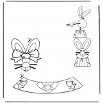 Theme coloring pages - Easter egg decoration 3