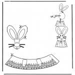 Theme coloring pages - Easter egg decoration 5