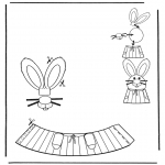 Theme coloring pages - Easter egg decoration 6