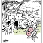 Bible coloring pages - Eastern Bible 3