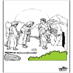Bible coloring pages - Eastern Bible 7