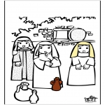 Bible coloring pages - Eastern Bible 8
