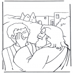 Bible coloring pages - Efata