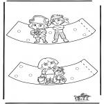 Crafts - Eggcup Dora