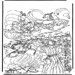 Bible coloring pages - Elia 2