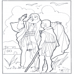 Bible coloring pages - Elijah 2