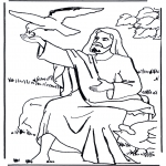 Bible coloring pages - Elijah