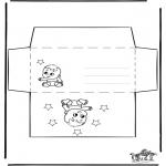 Crafts - Envelop baby