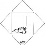 Crafts - Envelop Bumba