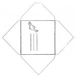 Crafts - Envelop dino