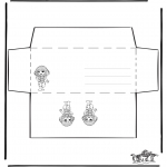 Crafts - Envelop girl