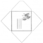 Crafts - Envelop unicorn