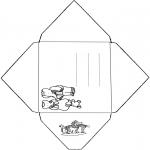Crafts - Envelope Babar