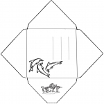 Crafts - Envelope Dolphin