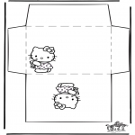 Crafts - Envelope Hello Kitty