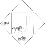 Crafts - Envelope Kangaroo