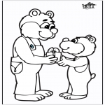 Theme coloring pages - Father's Day 3