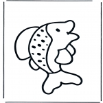 Animals coloring pages - Fish 1