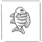 Animals coloring pages - Fish 2