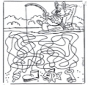 Fish labyrinth