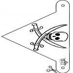 Crafts - Flag pirate