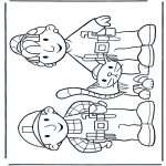 Kids coloring pages - Free coloring pages Bob the Builder