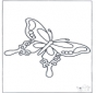 Free coloring pages butterfly