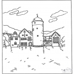 All sorts of - Free coloring pages castle
