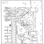 All sorts of - Free coloring pages Cinderella