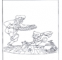 Free coloring pages fairy tale