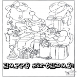 Theme coloring pages - Free coloring pages Happy Birthday