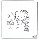 All sorts of - Free coloring pages Hello Kitty