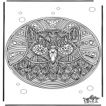 Mandala coloring pages - Free coloring pages Mandala