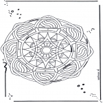 Mandala Coloring Pages - Free coloring pages mandala star