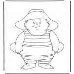 Kids coloring pages - Free coloring pages Paddington bear