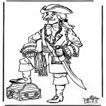 All sorts of - Free coloring pages pirate