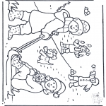 Winter coloring pages - Free coloring pages snow