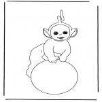 Kids coloring pages - Free coloring pages Teletubbies
