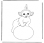Free coloring pages Teletubbies