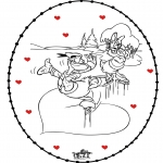 Theme coloring pages - Free coloring pages Valentine's