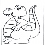 Animals coloring pages - Free coloring sheets dinosauer