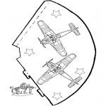 Crafts - Funny hat Airplane